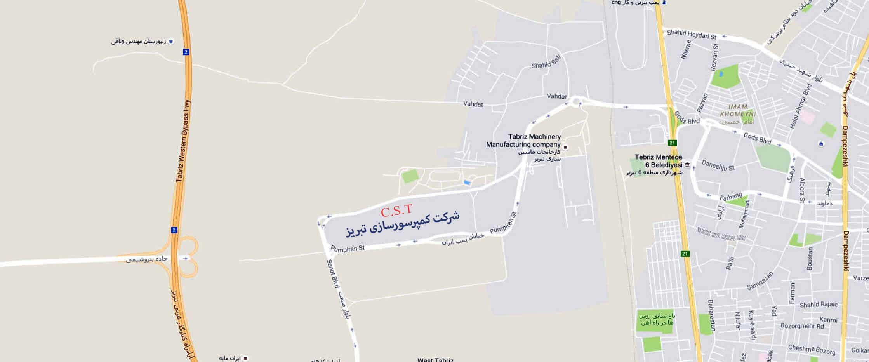 کارخانه کمپرسور سازی تبریز